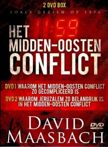 DVD Het Midden Oosten conflict D. Maasbach & A. van der Bijl DVD250109/010209