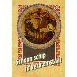 Schoon schip in kerk en staat J. den Admirant 9789080126435